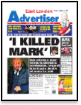 I Killed Mark: East London Advertiser 11/10/2007