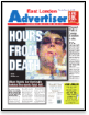 Hours From Death: East London Advertiser 6/12/2007